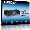SWITCH DE 8 PUERTOS TEG-082WS TRENDNET ADMINISTRABLE